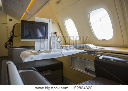 Airbus A380 Airplane Inside