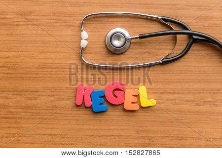 Kegel Colorful Word