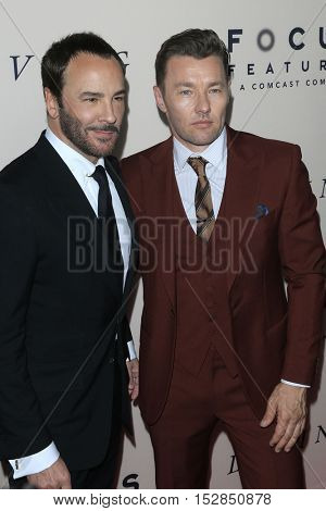 LOS ANGELES - OCT 20:  Tom Ford, Joel Edgerton at the