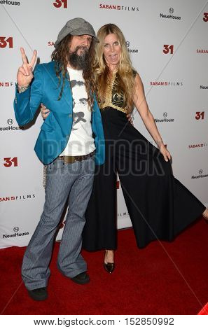 LOS ANGELES - OCT 20:  Rob Zombie, Sheri Moon Zombie at the Special Screening of