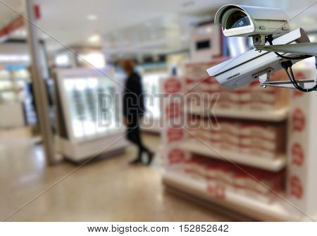 Cctv System In Shop