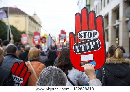 Anti Ttip Protest