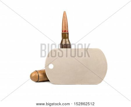 Bullet And Dogtag
