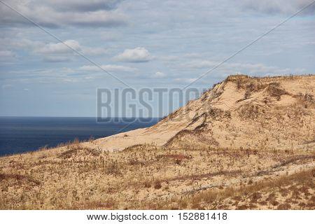 Dunes of Sleeping Bear Dunes National Lakeshore, Michigan