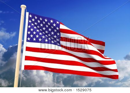 Usa Flag (Clipping Path)