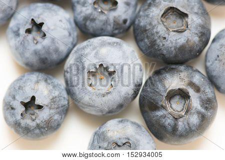 Ripe Blackberries Close Up