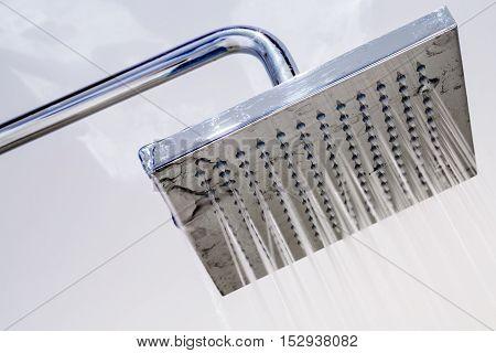 Italian Shower In A Modern Bathroom
