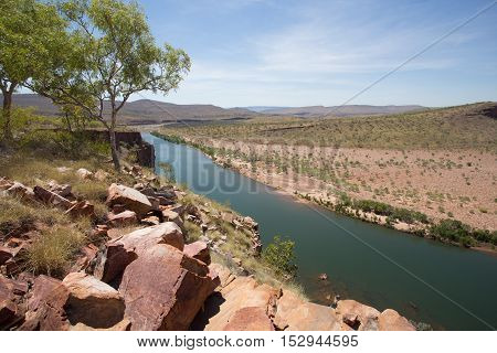 Brancho's Lookout on El Questro Station is a very special place on the Gibb River Road, offering outstanding views over the Penetecoste River