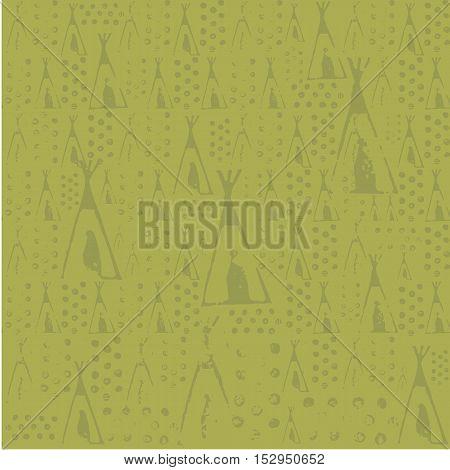 Wigwam Seamless Texture
