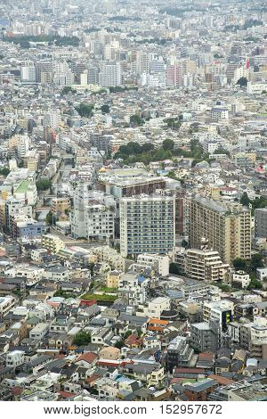 Cityscape of Tokyo City Japan - Tokyo is the world's most populous metropolis and is described as one of the three command centers for world economy