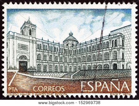 SPAIN - CIRCA 1979: A stamp printed in Spain from the