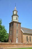 Bruton Parish Episcopal Church of British Colony, Williamsburg, Virginia, USA. poster