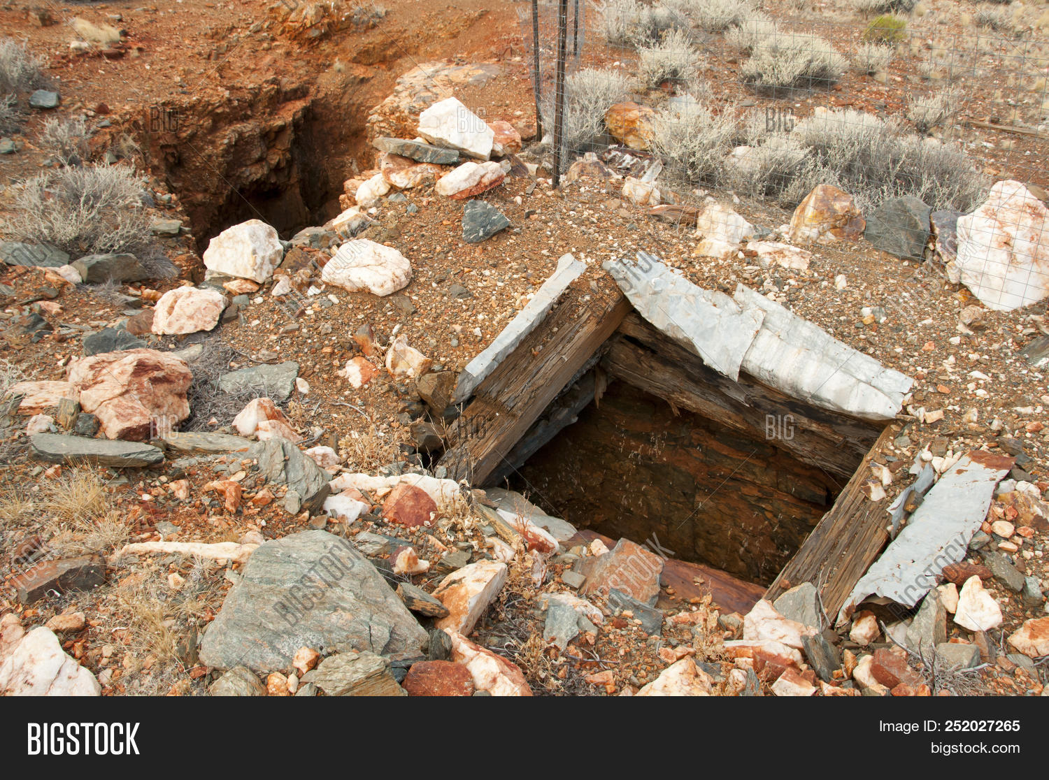 Old Abandoned Mine Image & Photo (Free Trial) | Bigstock