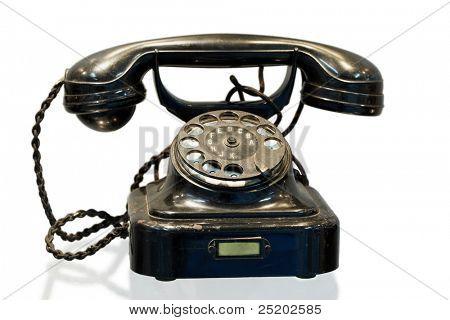 Automatic telephone exchange system desktop phone, model W 28