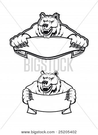 Wild Kodiak Bear
