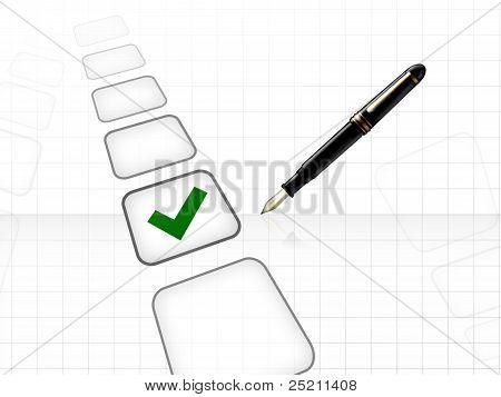 Głosowania właściwą decyzję koncepcja