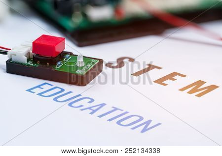 Stem Education For Learning, Electronic Board For Be Program By Robotics Electronics In Laboratory I