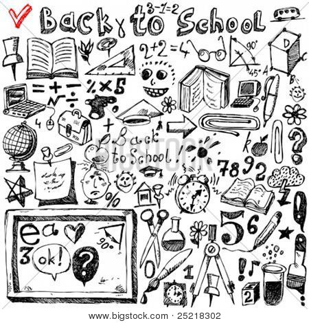 Back to school sketch