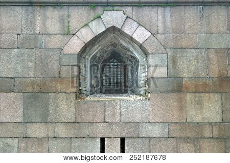 He Window - Embrasure For The Shooting Of Guns.