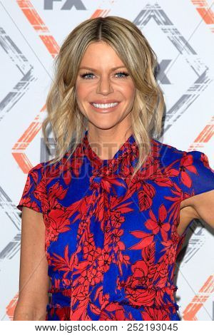 LOS ANGELES - AUG 3:  Kaitlin Olson at the FX TCA Starwalk - Summer 2018 on the Beverly Hilton Hotel on August 3, 2018 in Beverly Hills, CA