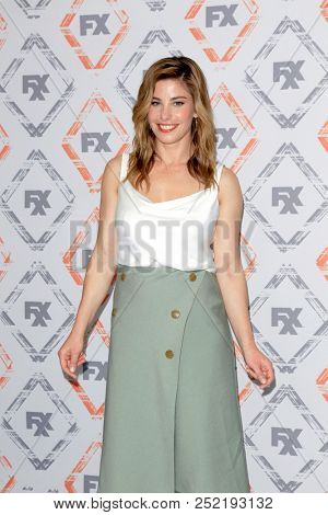 LOS ANGELES - AUG 3:  Brooke Satchwell at the FX TCA Starwalk - Summer 2018 on the Beverly Hilton Hotel on August 3, 2018 in Beverly Hills, CA