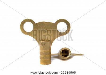 radiator key.