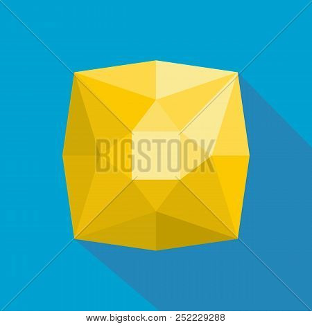 Square Diamond Icon. Flat Illustration Of Square Diamond  Icon For Web.