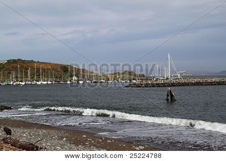 Boats On Harbor