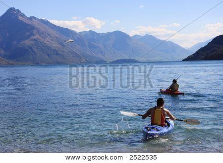 2 Kayaks