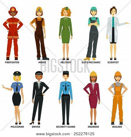 Women Working In Non-traditional Roles, Industries: Technolog, Miner, Military, Automechanic, Scient