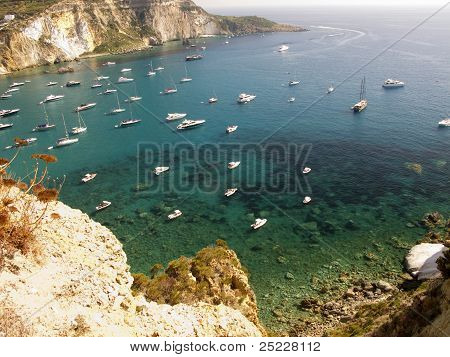 Aerial Coastline Italy