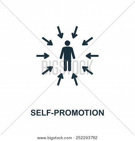 Self-confidence Creative Icon. Simple Element Illustration. Self-confidence Concept Symbol Design Fr