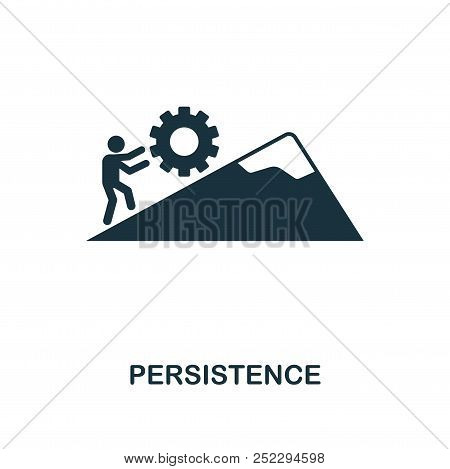 Persistence Creative Icon. Simple Element Illustration. Persistence Concept Symbol Design From Soft