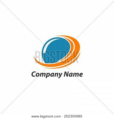 Technology Orbit Web Rings Logo Design. Vector Circle Ring Logo Design. Abstract Circle Logo Templat