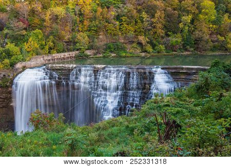 A Water Falls In Rochester Ny State