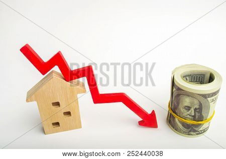 a decline in property prices. population decline. falling interest on the mortgage. reduction in demand for the purchase of housing. low energy efficiency. low prices for public utilities poster