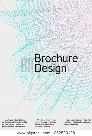 Cover Design With Abstract Lines. Modern Background. Rich Design Of Vip. Future Futuristic Template