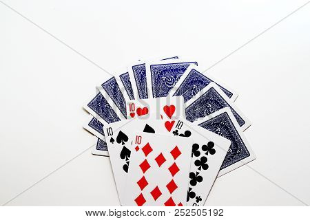 Card Games In White Background / A Card Game Is Any Game Using Playing Cards As The Primary Device W