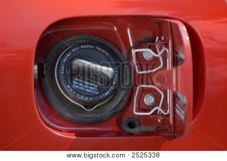 Boné de gás automóvel