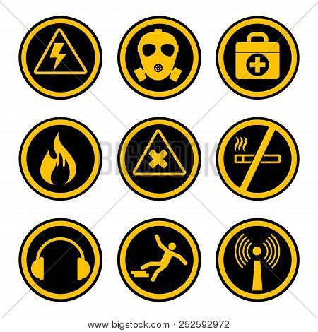 Occupational Safety High Quality Standard Warning Sign