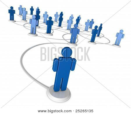 Social Network Of People