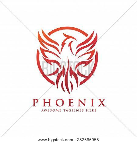 Fabulous Luxury Phoenix Logo Vector Photo Free Trial Bigstock Download Free Architecture Designs Licukmadebymaigaardcom