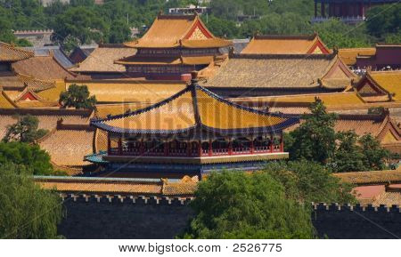 Forbidden City, Emperor'S Palace, Beijing, China