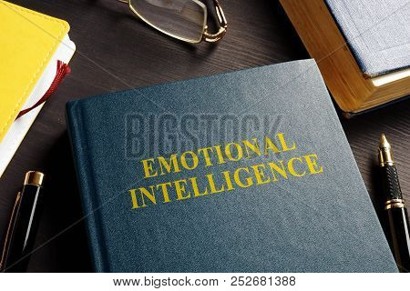 Book About Emotional Intelligence Ei On A Desk.