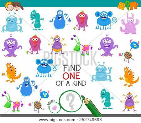 Find One Monster Of A Kind Game