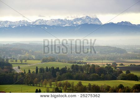 View To The Alps