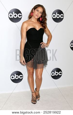 LOS ANGELES - AUG 7:  Jaina Lee Ortiz at the ABC TCA Party- Summer 2018 at the Beverly Hilton Hotel on August 7, 2018 in Beverly Hills, CA