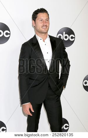 LOS ANGELES - AUG 7:  Val Chmerkovskiy at the ABC TCA Party- Summer 2018 at the Beverly Hilton Hotel on August 7, 2018 in Beverly Hills, CA