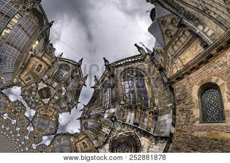 Kaleidoscopic Pattern Of Architecture