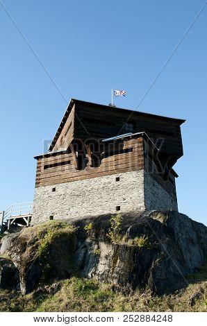 Historic Petit Sault Blockhouse - Edmundston - New Brunswick